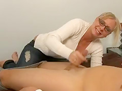 Hottest Homemade movie with Blonde, Blowjob scenes
