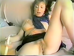 Incredible Amateur clip with Vintage, Masturbation scenes