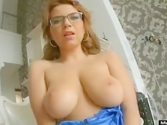 Incredible Amateur record with Big Tits, Strip scenes