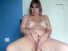 Crazy Homemade clip with Solo, Masturbation scenes