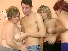 Crazy Homemade video with Mature, Young/Old scenes