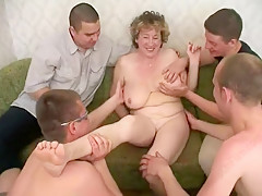 Incredible Homemade video with Young/Old, Big Tits scenes