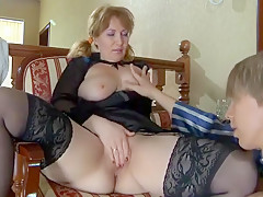 Exotic Homemade movie with Stockings, Young/Old scenes