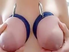 Amazing Homemade movie with Big Tits, Fetish scenes