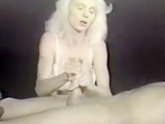 Amazing Amateur clip with Handjob, Blonde scenes