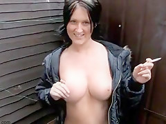 Horny Amateur movie with Brunette, Big Tits scenes