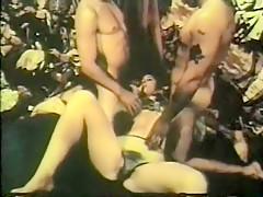Fabulous amateur Threesome sex scene