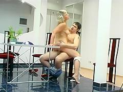 Hottest Amateur clip with Big Tits, Blonde scenes