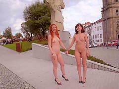 Vienna nude in public