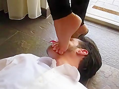 Incredible Homemade clip with Femdom, Foot Fetish scenes