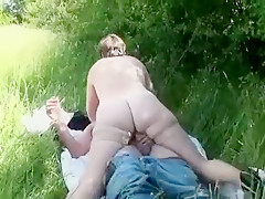 Horny Amateur record with Grannies, Outdoor scenes