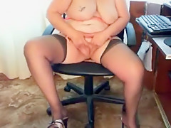 Amazing Amateur video with Grannies, Stockings scenes