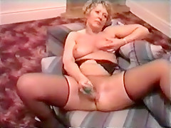 Fabulous Homemade movie with Stockings, Grannies scenes