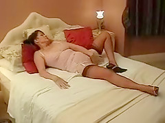 Horny Amateur clip with Masturbation, Brunette scenes