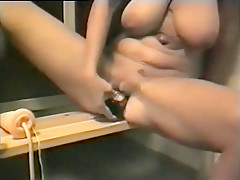 Incredible Homemade video with Blonde, Changing Room scenes
