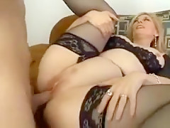 Best Amateur record with Stockings, Blonde scenes