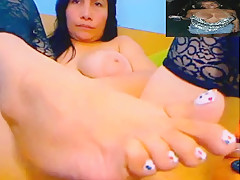 Incredible Amateur movie with Masturbation, Mature scenes