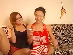 Crazy Amateur video with Brunette, Couple scenes