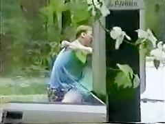Crazy Amateur clip with Outdoor, Voyeur scenes