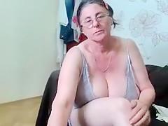Big horny bbw mature granny huge tits