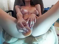 LuckyPussy1 secret clip from MyFreeCams