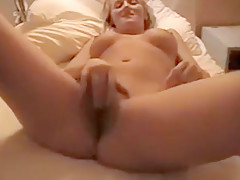 Sexy blonde adult with amazing breasts gets banged many int