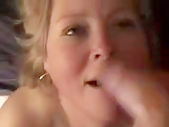 Cum thirsty blonde gets experience and her mouth high in cl