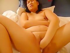Asian self fisting