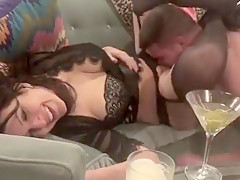 Husband sampling wifes vagina after dick that is dark