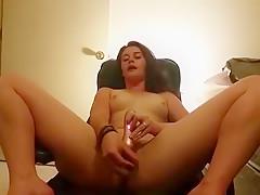 Teenager enjoys her games