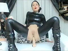 Sexy Girl In Latex