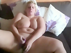 Fat Chick With A Huge Pair Of Knockers Solo