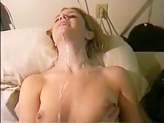 Sizzling Amateur Partner Gets Cumshot On Her Body