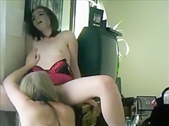 Woman Takes Her Partner That Is Moaning