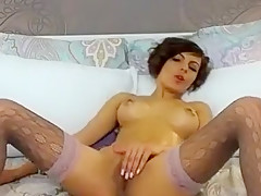 French Fingering Her Slit On Her Audiences