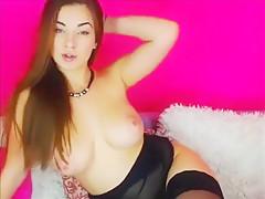 Smoking hot Sveta Nebotova enjoys showing off her amazing c