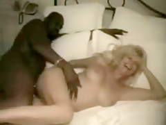 Stunning busty blonde would go to the area that is dark