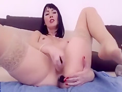 SUPER-HOT ASS Masturbate