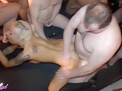 Best homemade Group Sex, German sex movie