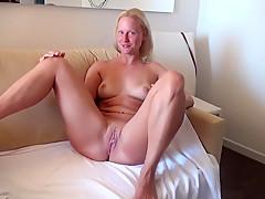 Horny amateur German, Blonde porn video