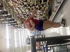 Sexy Fat Ass Milf In Store