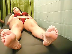 Crystal Frost Gets Prescribed Foot Worship...Preview