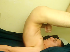 Swallowing my own cum