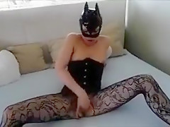 Monster dildo in pussy - cock 13 inches