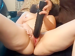 Cock gloved hand her his jerked