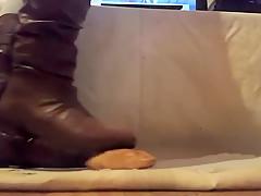 Brown Boot Croissant Crush