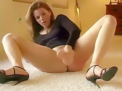 sexy solo female going hard