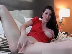 Horny Chick Masturbating On Webcam