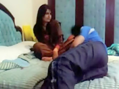 Pakistani Gf Razia On Skype
