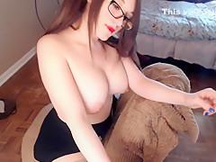 Crazy homemade Webcam, Big Tits porn movie